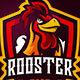 Rooster Mascot Logo - GraphicRiver Item for Sale