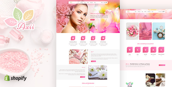 Axii | Beauty, Spa Shopify Theme