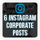 Instagram Corporate Posts - GraphicRiver Item for Sale