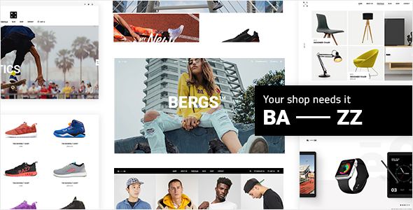 Bazz - WooCommerce Theme - Crack Theme - Download Free Wordpress