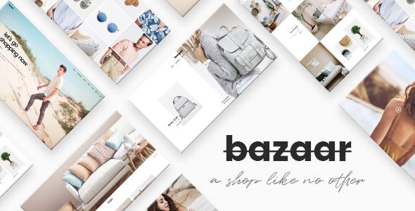 Bazaar - eCommerce Theme