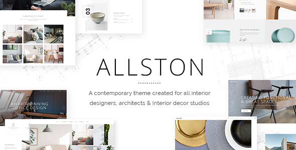 Allston - Contemporary Interior Design and Architecture Theme