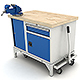mobile workbench - 3DOcean Item for Sale