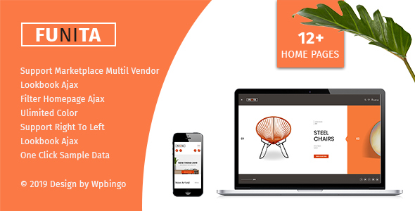 Funita - Multi Vendor WooCommerce Furniture Theme
