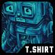 Damn Robot Remastered T-Shirt Design - GraphicRiver Item for Sale