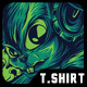 Cool Rabbit Remastered T-Shirt Design - GraphicRiver Item for Sale
