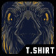 The Crow Remastered T-Shirt Design - GraphicRiver Item for Sale