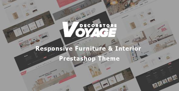 Bos Voyage - Art Furniture Prestashop Theme for Home Decor & Wooden