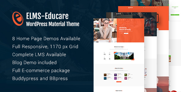 Elms - Educational Material WordPress Theme