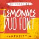 Lemonace Duo Font - GraphicRiver Item for Sale