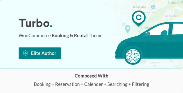 Turbo - WooCommerce Rental & Booking Theme