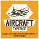Aircraft and Typography - GraphicRiver Item for Sale