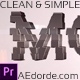 Clean and Simple Corporate Title Reveal (mogrt) - VideoHive Item for Sale