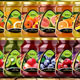 Collection of Label Templates for Fruit Packaging - GraphicRiver Item for Sale