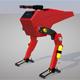 Science Fiction Two Leg Assault Mech Robot Drone 3D Model - 3DOcean Item for Sale