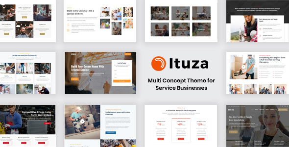 Ituza - Multi-Concept Theme for Service Businesses