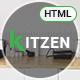 Kitzen | Modern Kitchen HTML Template - ThemeForest Item for Sale