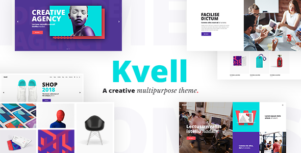 Kvell - A Creative Multipurpose Theme for Freelancers and Agencies