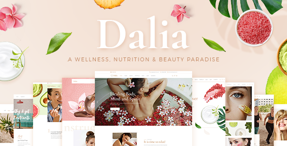 Dalia - Modern Wellness & Cosmetics Theme