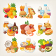 Food Vector Icons Shopping Categories - GraphicRiver Item for Sale