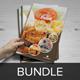 Food Restaurant Brochure Bundle - GraphicRiver Item for Sale