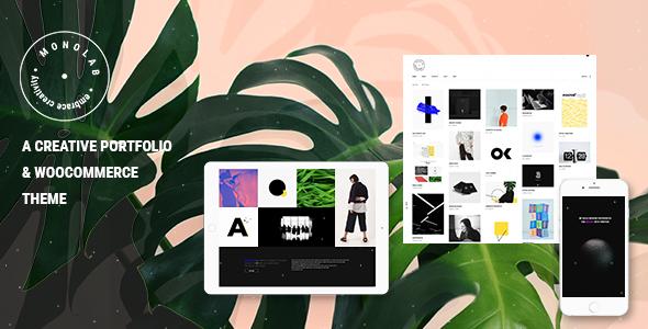 Monolab - Creative Portfolio Theme