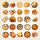 Set of Various Dinners from World Cuisines - GraphicRiver Item for Sale