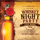Whiskey Night Party - GraphicRiver Item for Sale