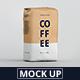Coffee Paper Bag Mockup - GraphicRiver Item for Sale