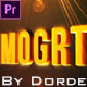 Epic Title Intro (mogrt) - VideoHive Item for Sale