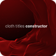 Cloth Titles - VideoHive Item for Sale