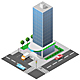 Isometric Building - GraphicRiver Item for Sale