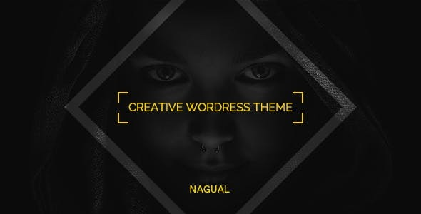 Nagual - Unique Personal/Agency Portfolio WordPress Theme