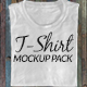 T-Shirt Mock Up Promo Pack 4K - VideoHive Item for Sale