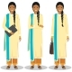 Detailed Illustration of Indian Businesswoman - GraphicRiver Item for Sale