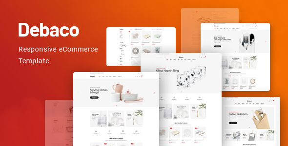 Debaco - Kitchen Appliances Store HTML Template