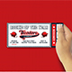 Baseball Birthday Invitation Ticket - GraphicRiver Item for Sale