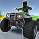 Low Poly Quad Bikes With Riders & Trailers - 3DOcean Item for Sale