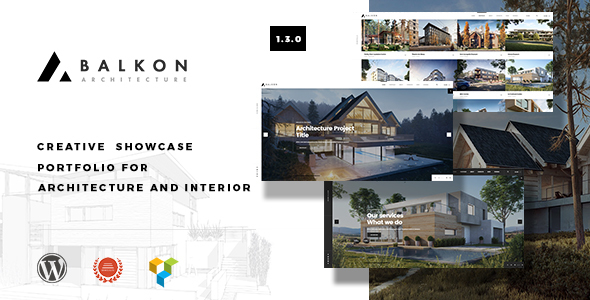 Balkon - Creative Responsive Architecture WordPress Theme