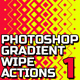 Geometric Gradient Wipe Actions - GraphicRiver Item for Sale
