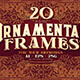 20 Ornamental Vintage Frames - GraphicRiver Item for Sale