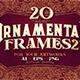 20 Ornamental Vintage Frames 2 - GraphicRiver Item for Sale