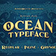 Ocean - Display Font - GraphicRiver Item for Sale