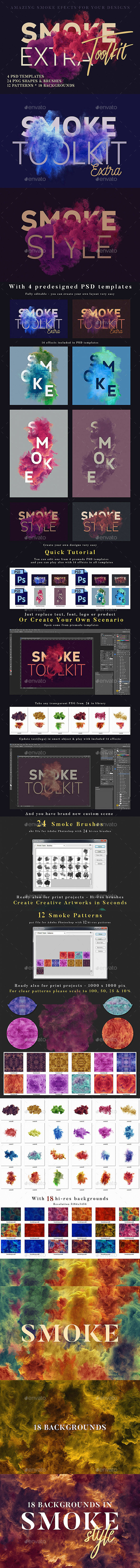 Smoke Graphics, Designs & Templates from GraphicRiver