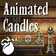 Animated Candles - Animated Pixel Art Sprites - GraphicRiver Item for Sale