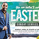 Easter Sunday Church Flyer - GraphicRiver Item for Sale