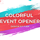 Colorful Event Opener  | After Effects Template - VideoHive Item for Sale