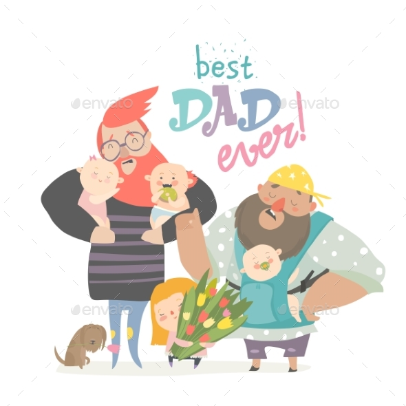 Fathers with Their Babies