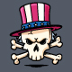 Uncle Sam Skull - GraphicRiver Item for Sale