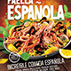 Paella - Spanish Food Flyer - Set of 3 Templates - GraphicRiver Item for Sale